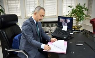 SAÜ ile Kırgızistan Batken Devlet Üniversitesi arasında iş birliği protokolü