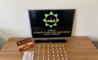 Tekirdağ'da uyuşturucu operasyonunda 1 şüpheli gözaltına alındı