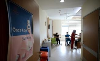 Trakya'da kafe, lokanta ve restoran çalışanlarının aşılanmasına başlandı