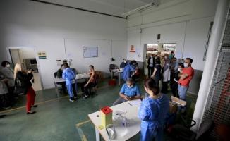 Trakya'da organize sanayi bölgelerinde mobil aşı uygulamasına başlandı