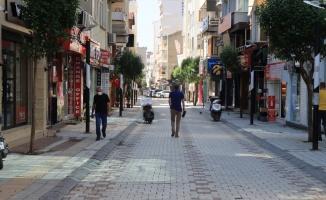 Trakya'da sokağa çıkma kısıtlaması nedeniyle sessizlik hakim