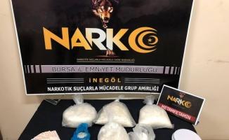 Bursa'da uyuşturucu satıcısı şüphelisi tutuklandı