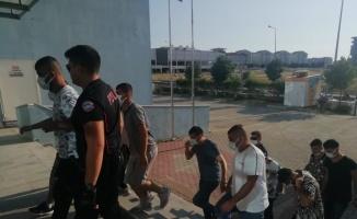 Edirne'de bir evde silah ve uyuşturucu ele geçirildi