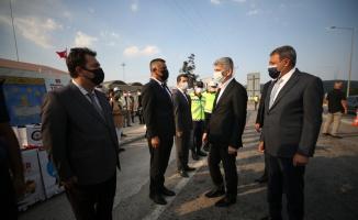 İçişleri Bakan Yardımcısı İnce, Bursa ve Balıkesir'de trafik denetimlerine katıldı