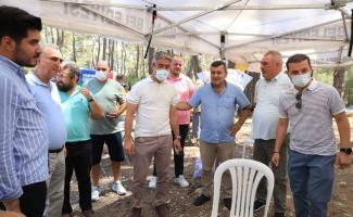 Muğla'da CHP'lilerden 'İkizköy' dayanışması