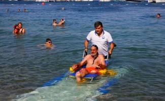 Muğla'da 'engelsiz plajlar' projesi devrede