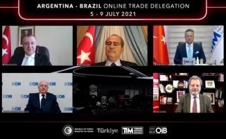 OİB, Brezilya ve Arjantin'e yönelik çevrim içi