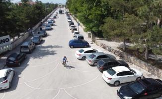 Ömer Halisdemir 5. Ulusal Bisiklet Turu'na katılan sporcular Bilecik'e geldi