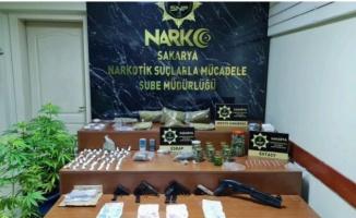 Sakarya'da haziranda polis ekiplerince yakalanan 162 kişi tutuklandı