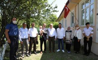 Serdivan'da 15 Temmuz gazileri ziyaret edildi