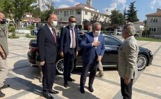 TBMM Başkanı Mustafa Şentop, Edirne Valiliğini ziyaret etti