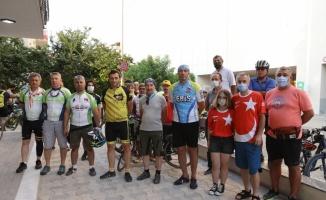 Trakyalı bisikletçiler, Kırklareli'nde çevre yolu talebiyle farkındalık sürüşü düzenledi