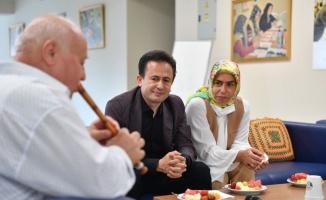 Tuzla Belediye Başkanı Yazıcı, Yaşlılar Merkezi sakinlerinin Kurban Bayramı'nı kutladı