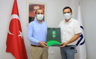 Yeşilay Kırklareli Şube Başkanı Yücel'den AA Kırklareli Bürosu'na ziyaret