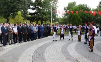 Atatürk'ün Tekirdağ'a gelişi ve Harf İnkılabının 93. yıl dönümü törenle kutlandı