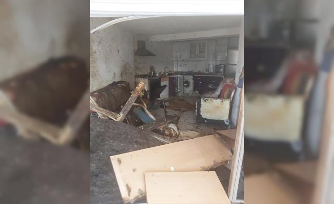 Edirne'de mutfak tüpünün patlaması sonucu 3 kişi ağır yaralandı