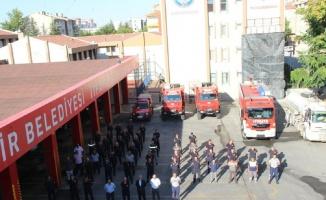 Kayseri itfaiyesi Marmaris yangınına da koştu