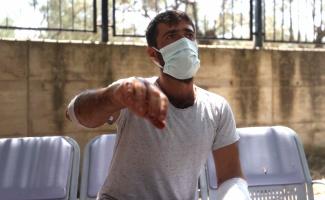 Kazdağları'nda yangın söndürme çalışmasına yardım ederken ayının saldırdığı Özkan Kaya, olayı anlattı:
