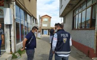 Keşan'da huzur uygulamasında 24 sürücüye 24 bin 882 lira ceza yazıldı