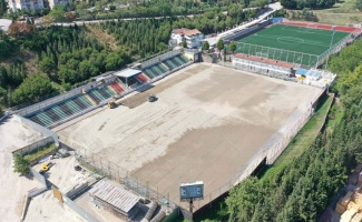 Kocaeli'de Derince Stadı'nda sona gelindi