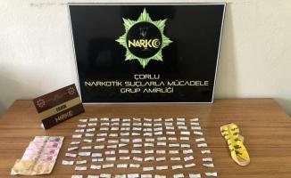 Tekirdağ'da uyuşturucu operasyonunda 3 kişi gözaltına alındı