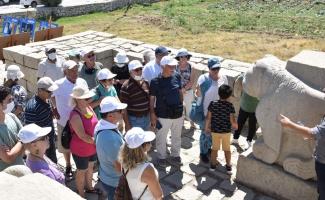 Üniversiteliler Arslantepe'ye hayran kaldı