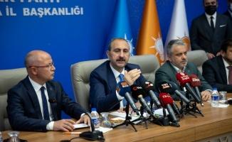 Adalet Bakanı Gül, AK Parti Bursa İl Başkanlığı'nda konuştu:
