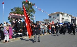 Ayvalık'ta düşman işgalinden kurtuluşun 99. yıldönümü törenleri yapıldı