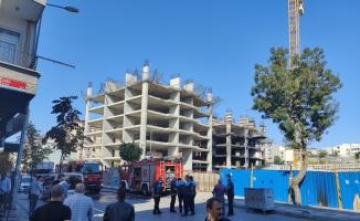 Bağcılar'da inşaat halindeki binada yangın