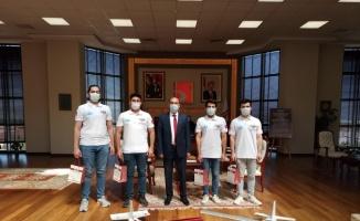 Bilecik Şeyh Edebali Üniversitesi proje ekibi, TEKNOFEST finalinde yarışacak