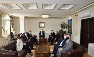 Edirne Valisi Canalp'e ziyaretler