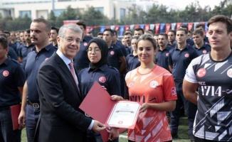 İstanbul'un ateş avcıları mezun oldu