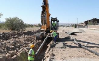 Kayseri Büyükşehir'den su yatırımı