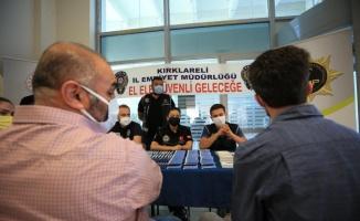 Kırklareli'nde üniversite öğrencileri