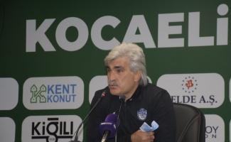 Kocaelispor-Tuzlaspor maçının ardından