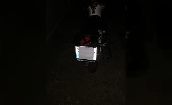 Motosiklet plakalarını cerrahi maskeyle kapatan 2 sürücüye ceza