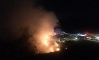 Osmaneli'nde yanan çöp döküm sahasında rehabilitasyon çalışması başlatıldı