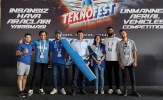 SUBÜ İHA'ları TEKNOFEST yarışmalarında iki mansiyon ödülü kazandı