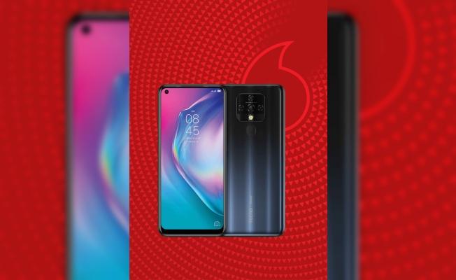 Tecno'nun yerli üretim akıllı telefonu Camon 16, Vodafone'da satışta