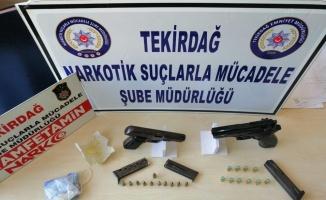 Tekirdağ'da asayiş ve uyuşturucu operasyonlarında 14 şüpheli yakalandı