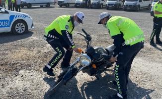 Tekirdağ'da çalınan motosiklet terk edilmiş halde bulundu