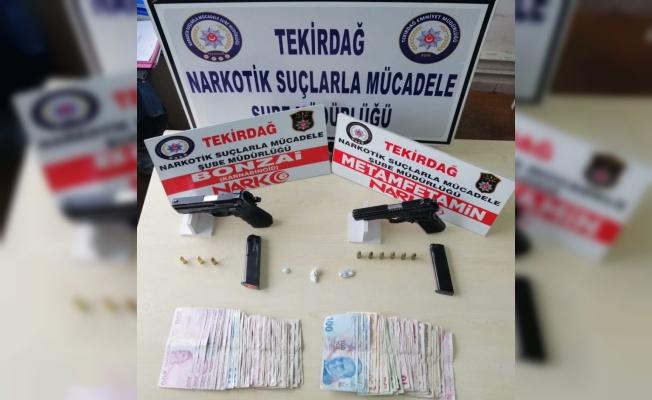 Tekirdağ'da uyuşturucu operasyonunda 2 zanlı tutuklandı