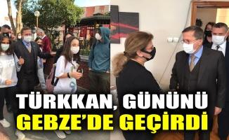 Türkkan gününü Gebze'de geçirdi