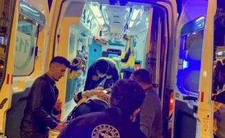 Adıyaman'da motosiklet çarpıp kaçtı: 1 yaralı