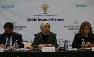 AK Parti'li Usta, Balıkesir'de STK temsilcileriyle bir araya geldi: