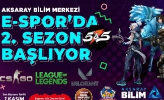 Aksaray'da E- Spor etkinlikleri