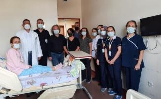 Balıkesir'de hastanın karnından 8 kilogram kitle çıkarıldı