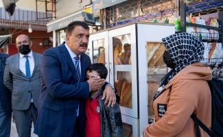 Başkan Gürkan, Sivas Caddesi'ni inceledi