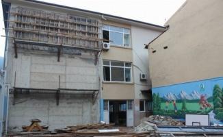 Bursa'daki okul inşaatları sürüyor