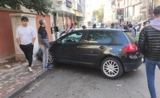 Bursa'da 4 aracın karıştığı kazada 1 kişi yaralandı